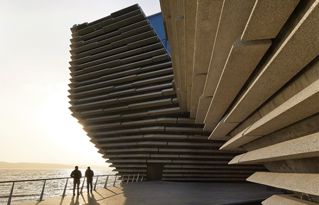 V&A Dundee by Kengo Kuma and Associates