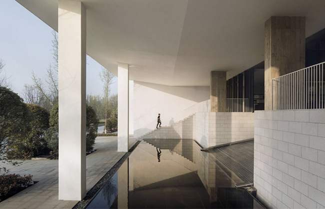 Shede Visitor's Center, China by Atelier FCJZ