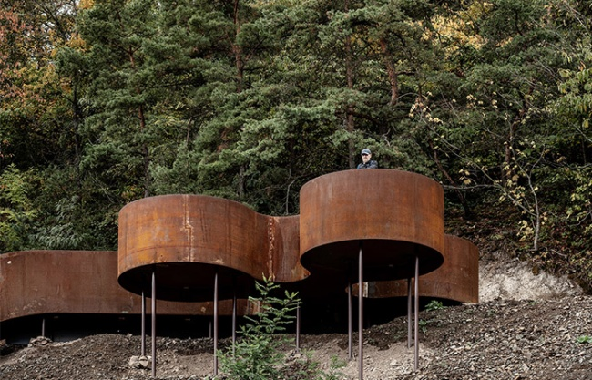 Chemin des Carrières矿场游览道,法国 / Reiulf Ramstad Arkitekter