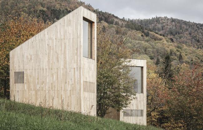 Breitenbach景观酒店 – 48° Nord,法国 / Reiulf Ramstad Arkitekter