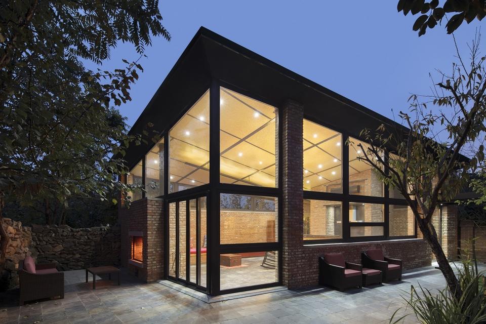 杏花径住宅,北京市怀柔区 / 萨洋设计+在场建筑 老宅新建(图片更新故提前)