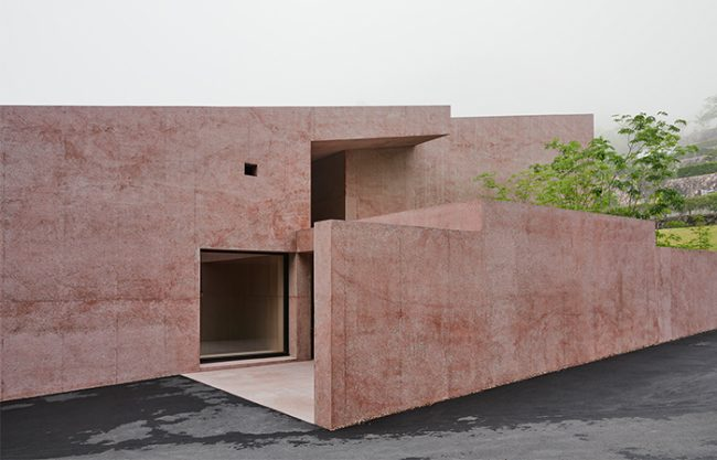 Inagawa Cemetery chapel and visitor centre by David Chipperfield Architects