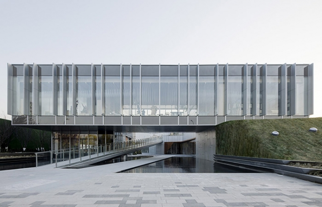 Beijing Vanke Jade Academy Sky Library, China by?Lacime Architects