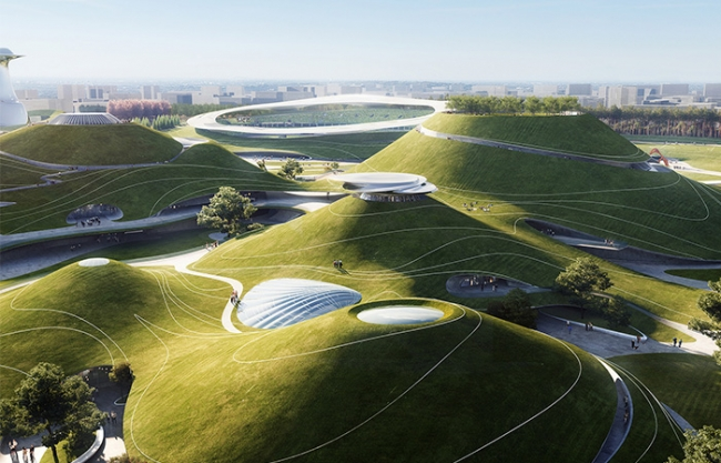 "Construction Breaks Ground on MAD's ""Quzhou Sports Campus"""