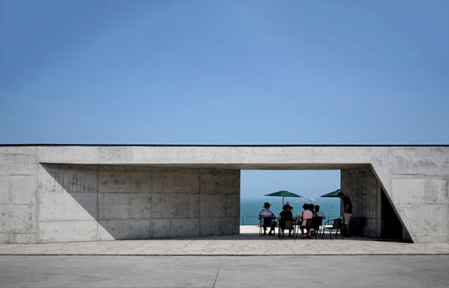 """Abstract Gallery"" Export Design of Longmei Bay Tourist Area in Zhangpu, Fujian, China by?Yin Peiru Architecture Studio"