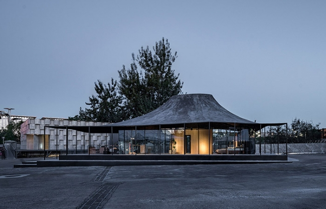 House ATO – House Vision 2018 Beijing Exhibition No. 2 Pavilion by Atelier Deshaus