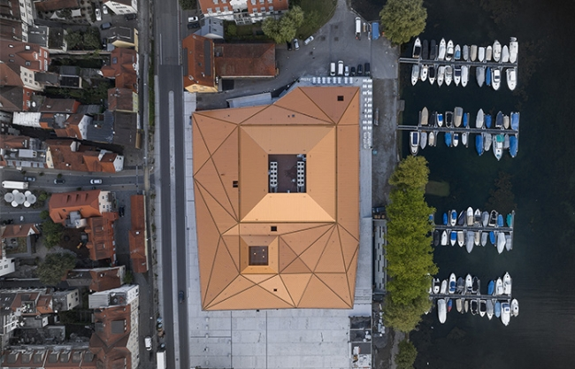 Reconstruction and Extension Inselhalle Lindau by Auer Weber