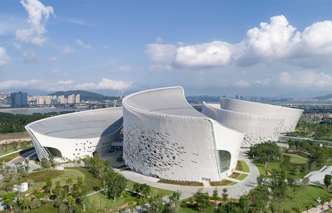 Fuzhou Strait Culture and Art Centre, China by PES-Architects
