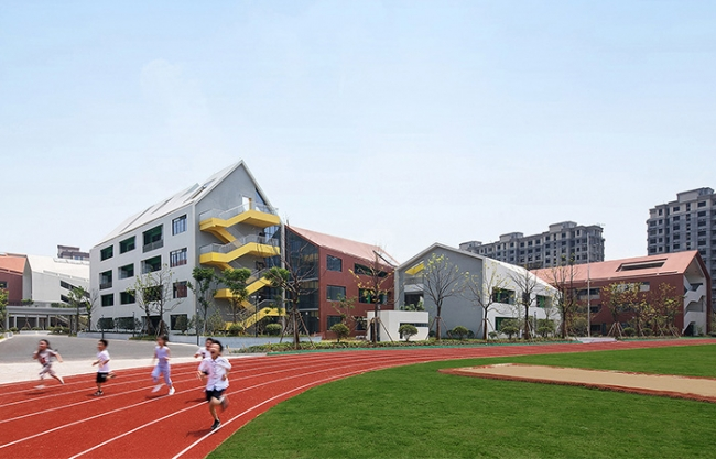 Hangzhou Haishu School of Future Sci-Tech City, China by LYCS Architecture
