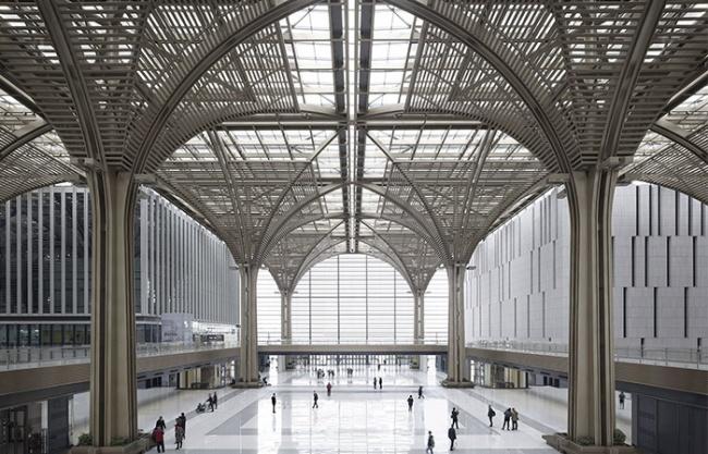 The Museum of Modern Art of  Tianjin Binhai Cultural Center, China by gmp