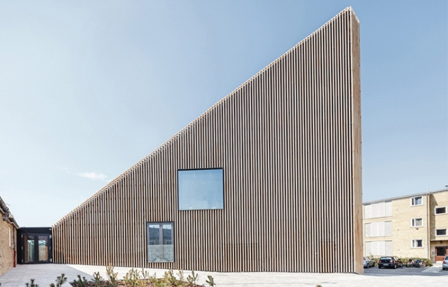 Tingbjerg Library and Culture House by COBE