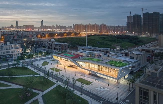 Nanchang Shimao Water City Cloud Office Center, China by DPLUS STUDIO