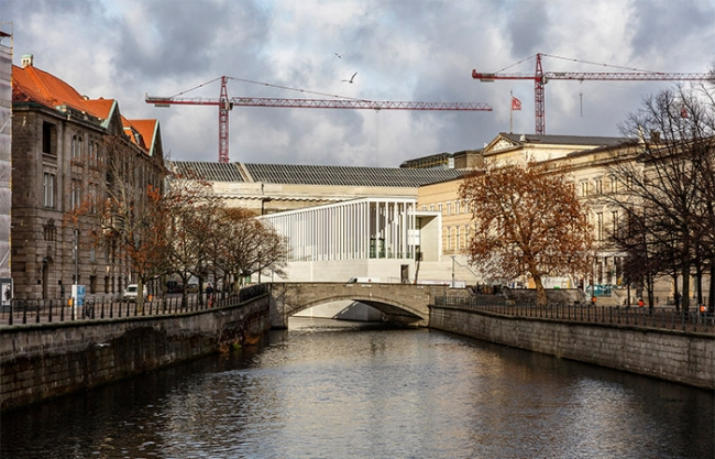 James Simon Galerie by David Chipperfield Architects Berlin