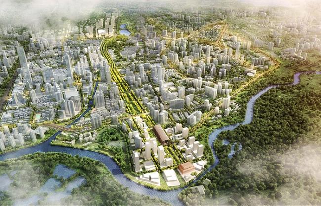 Luohu Streetscape Renovation, Shenzhen, China by sasaki