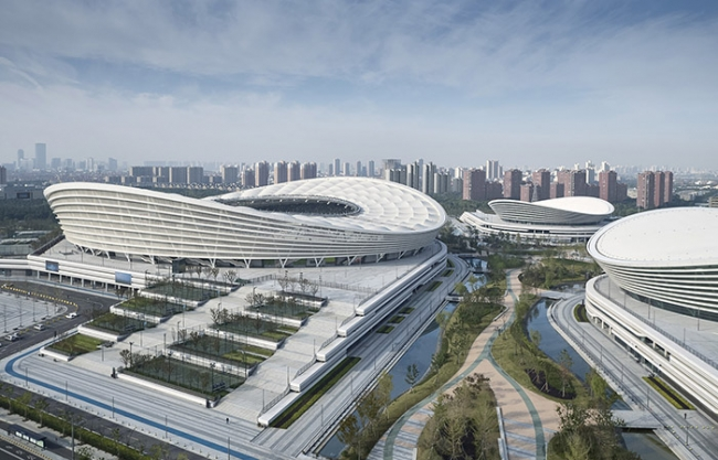 Olympic Sports Center in Suzhou, China by gmp