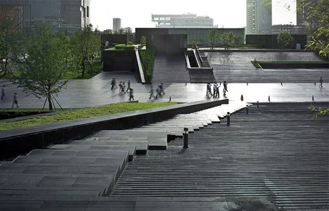Museum of Contemporary Arts, China by Jiakun Architects