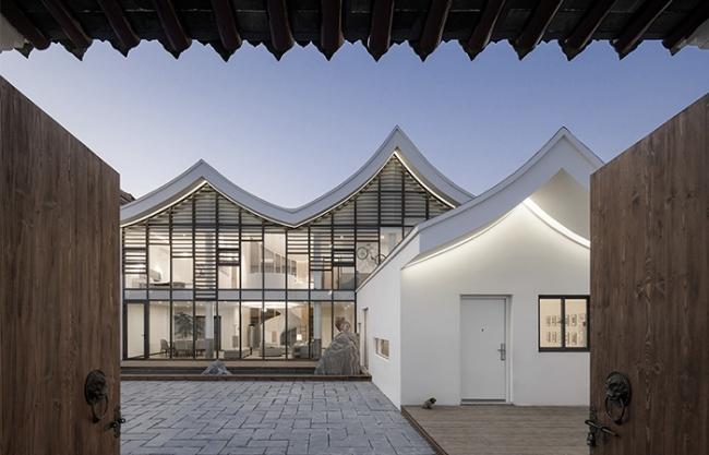 沁园 – 泰州老宅改造,江苏 / DOES设计事务所