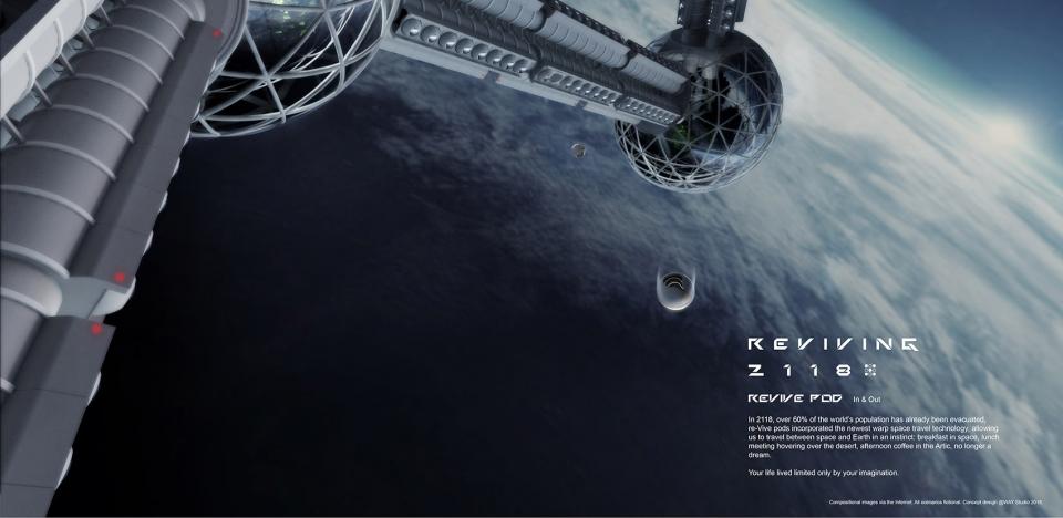 REVIVING 2118再生舱 / WAY Studio 未来百年后地球生活的大胆设想