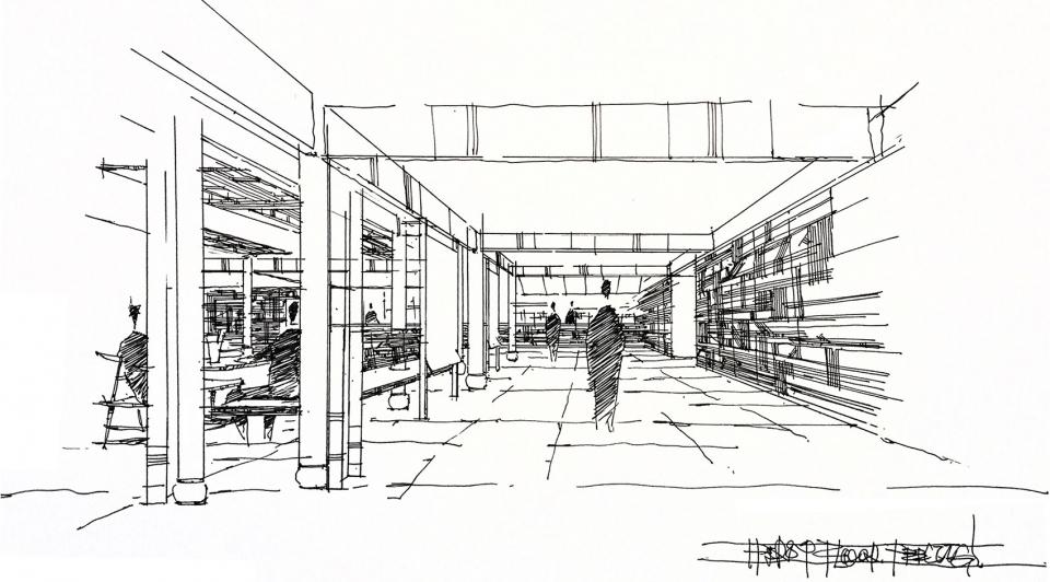 肯德基玉河广场店,丽江 / RooMoo 用纳西族传统特色面料覆盖整个空间