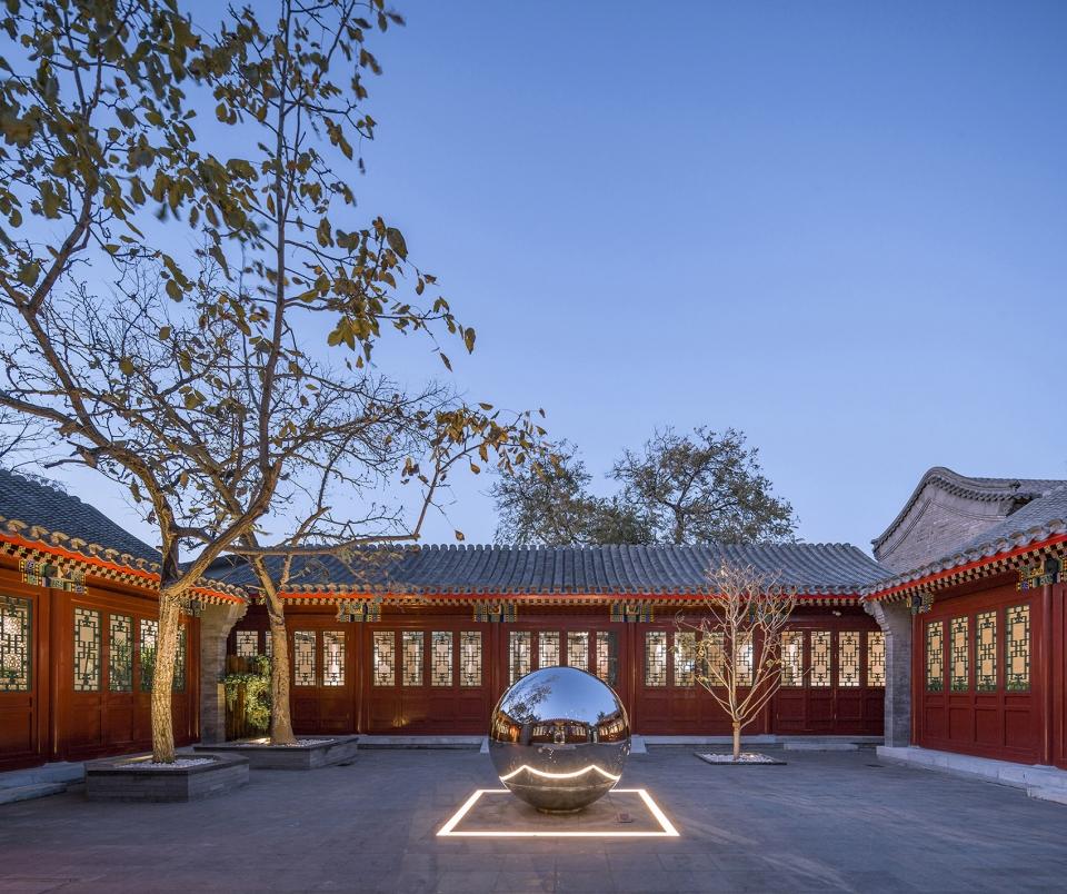 东四胡同博物馆,北京 / 北京赤途公共艺术中心 东四77号院升级改造项目