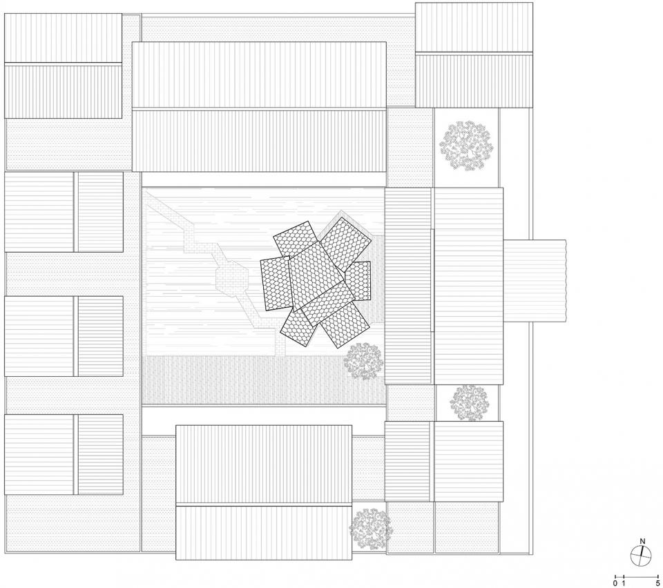 """苏州国际设计周 – """"风之亭""""/ MAT超级建筑事务所 漂浮的屋顶下的自由空间"""