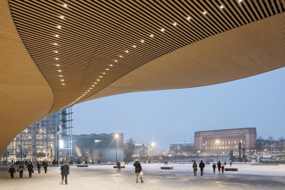 赫尔辛基中央图书馆,芬兰 / ALA Architects 城市公共图书馆网络中的重要节点