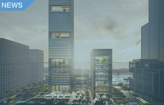 gmp wins competition for Hengli International Building in Shenzhen