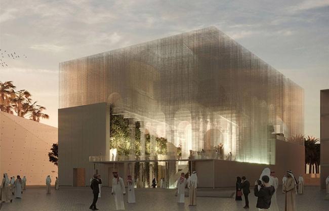 Italian Pavilion at Expo 2020 in Dubai by Dodi Moss