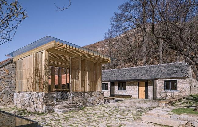 Persimmon Garden in Wangjiatuan Village, China by 3andwich Design/He Wei Studio