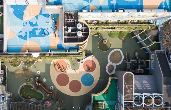Hangzhou Five Star Kindergarten Reconstruction Project, China by Hangzhou Sanri Interior Design