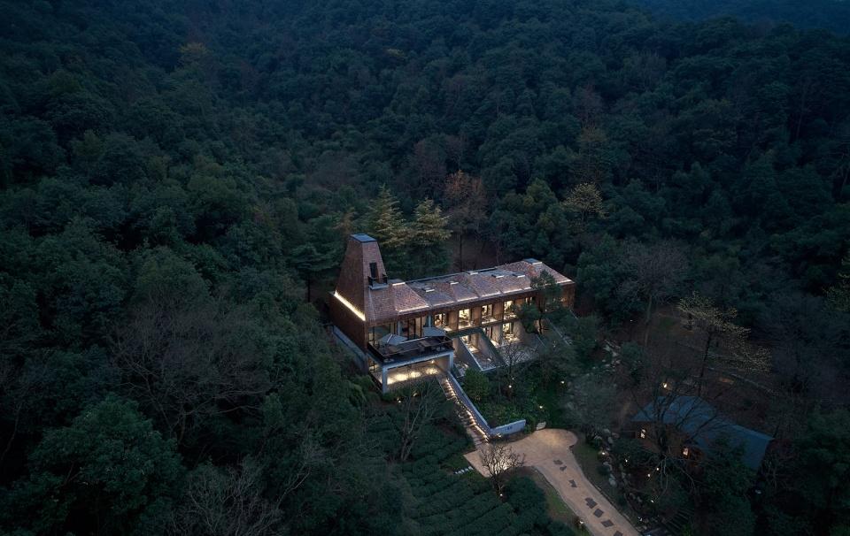 杭州开元森泊度假乐园——一览居 / 中国美术学院风景建筑设计研究总院 山谷中的守望