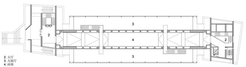 吉首美术馆,湖南 / 非常建筑 一座横跨江面的廊桥