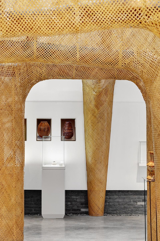 崇州竹编博物馆,四川 / 黑蚁文化创意 色、艺、影、形、光