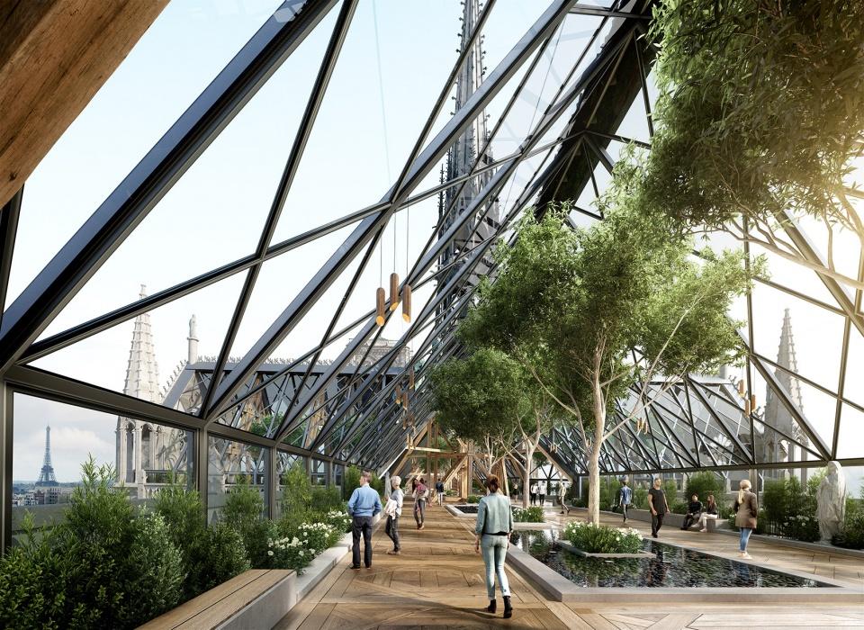 巴黎圣母院重建概念方案 / Miysis 重塑原始美感与延续未来