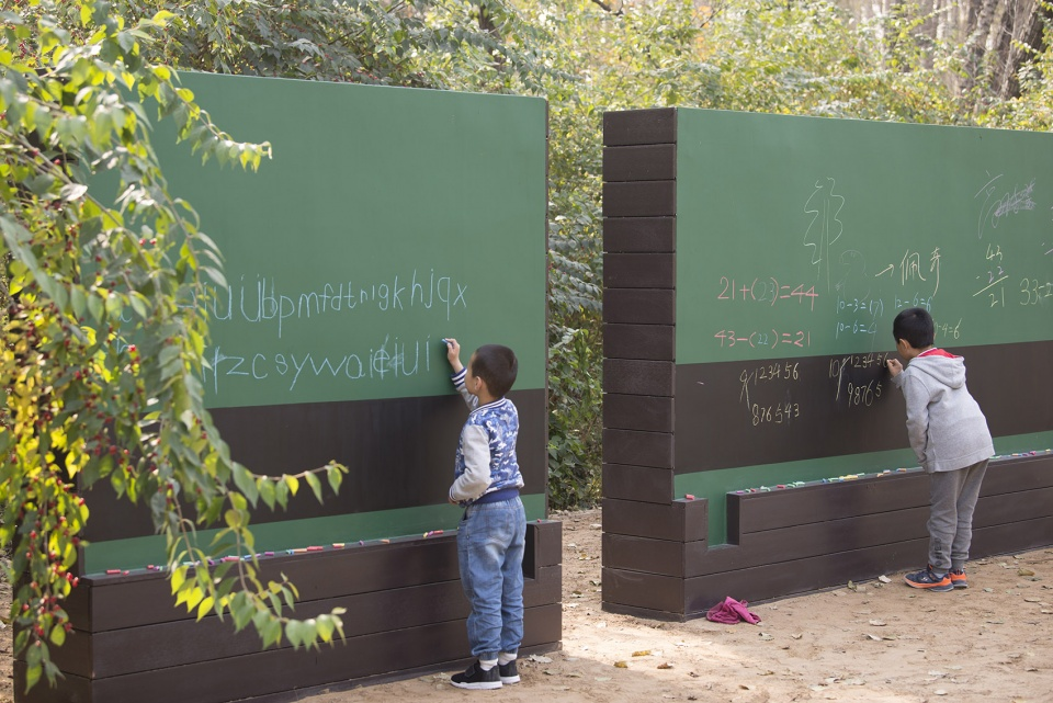 重建儿童与自然的关系 – 环境教育主题城市森林规划设计,北京 / 中国林业科学研究院 自然缺失症的治愈之地