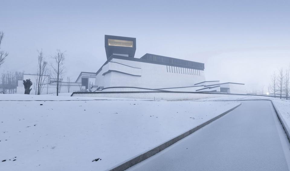 西藏非物质文化遗产博物馆 / 深圳华汇设计 接近天空的圣地