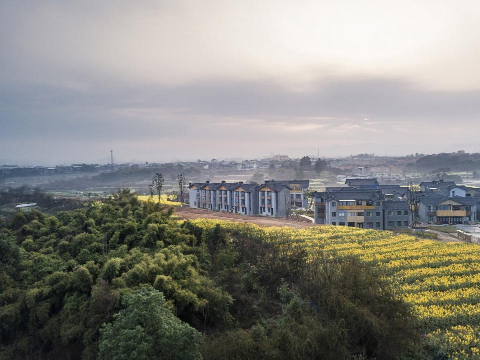 """川西林盘上的国家级新区的田园综合体规划设计,成都 / 袈蓝建筑 """"城市病""""的治疗药方"""