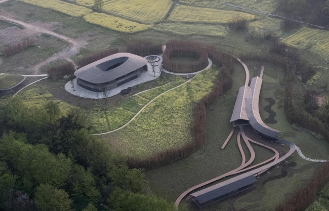 Inkstone House OCT Linpan Cultural Center in Anren, China by Archi-Union Architects
