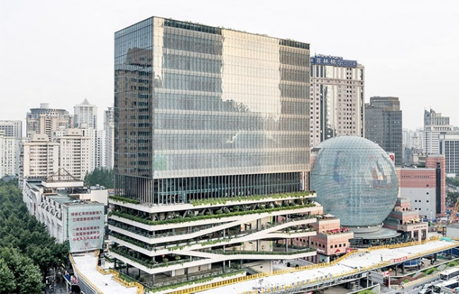 Xujiahui T20 Building, China by Jacques Ferrier Architecture + Sensual City Studio