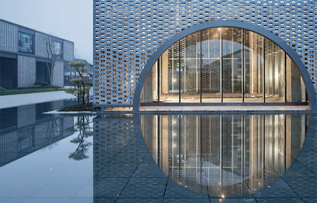 The Fengqiao Experience Exhibition Hall, China by The Architectural Design and Research Institute of Zhejiang University