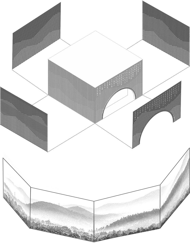 枫桥经验陈列馆,浙江 / 浙江大学建筑设计研究院 千年古镇中的诗意空间