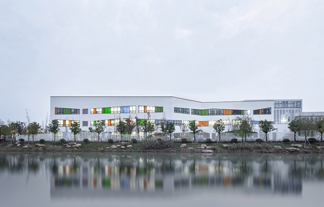 Nanxun Town Center Kindergarten New Site Extension Project,  China by The Architectural Design & Research Institute of Zhejiang University
