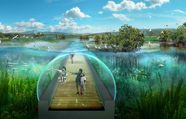 Concept Design Of Hengqin National Wetland Park in Zhuhai, China by GED