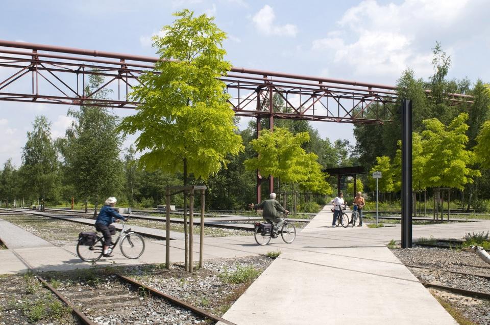 Zollverein公园,德国 / Planergruppe GmbH Oberhausen 世界文化遗产上的公园