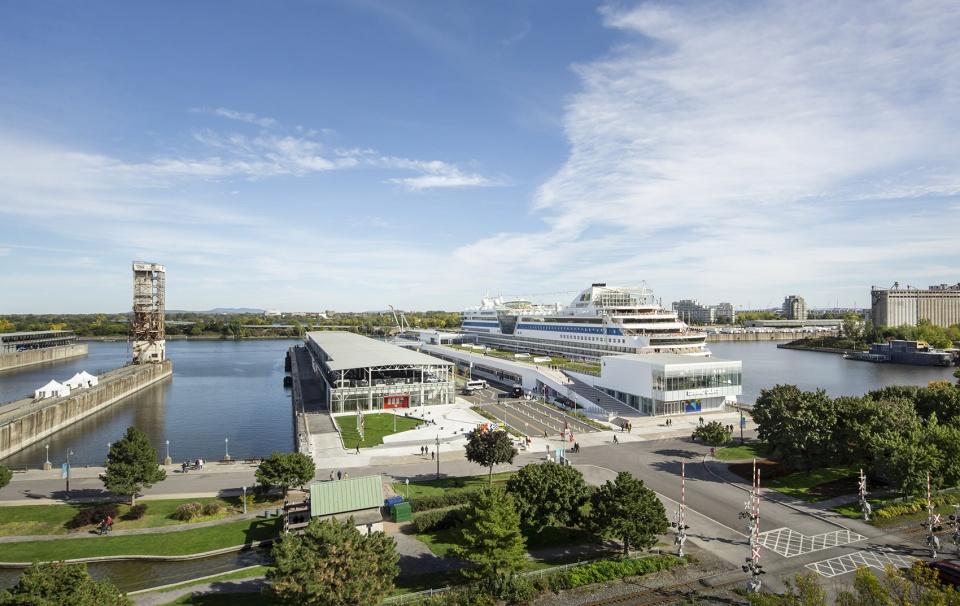 加拿大蒙特利尔Grand Quay港口设计