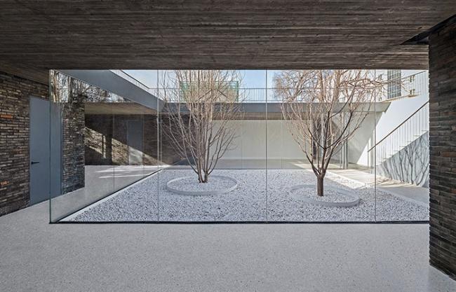 Folding Courtyard, Beijing, China by ARCHSTUDIO