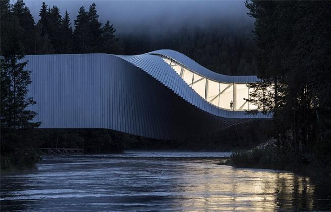 扭体博物馆,挪威 / BIG