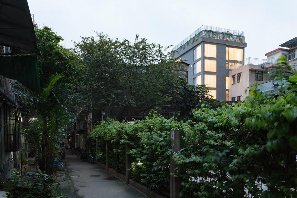 广州不远民宿——7层的民宿酒店改造
