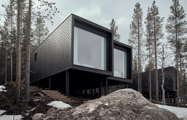 北极树屋酒店扩建,芬兰 / Studio Puisto Architects