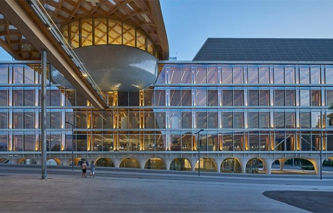 斯沃琪-歐米茄園區,瑞士 / Shigeru Ban Architects